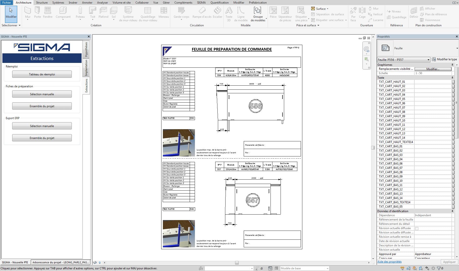 Plan De Calepinage Edition Du Plan 3d Copac Groupe