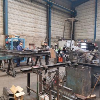 fabrication de coffrages en acier par ecmat copac à lyon