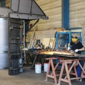 atelier métal sur le site de copac ecmat